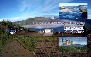 The peak B29 Argosari Lumajang