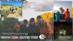 Mount Semeru Trekking Bromo Ijen Tour 5 days