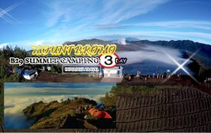 Mount Bromo B29 Camping Tour Package 3 Days
