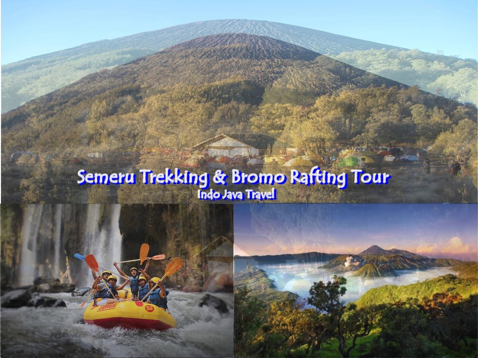 Indo Java Travel Midnight Bromo Madakaripura Semeru Trekking Tour Packages Rafting 4 Days 3 Nights