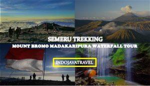 Semeru Trekking Bromo Madakaripura Waterfall Tour