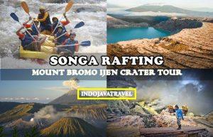 Songa Rafting Bromo Ijen Crater Tour