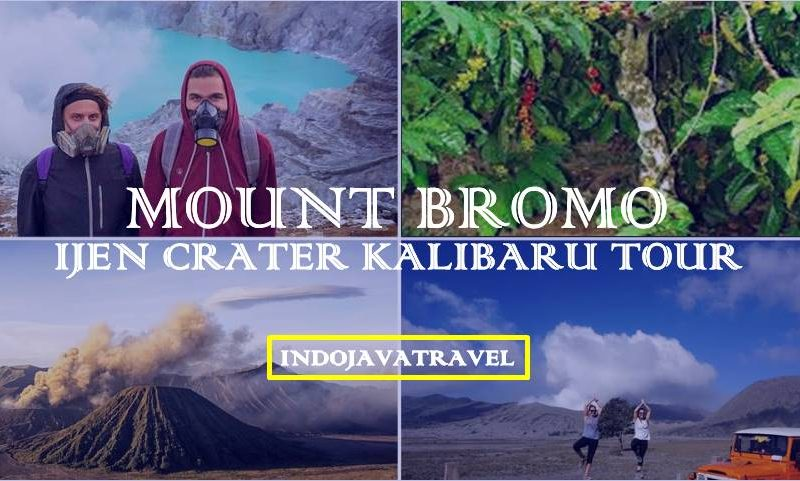 Mount Bromo Ijen Crater Kalibaru Tour 4 Days | Mount Bromo Ijen Tour