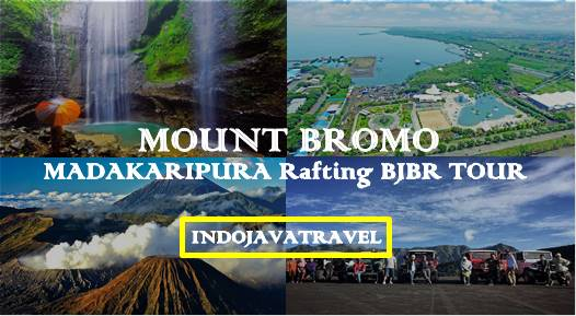 Mount Bromo Madakaripura Rafting BJBR 3 Days | Bromo Tour Package