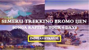 Mount Semeru Trekking Bromo Ijen Rafting Tour